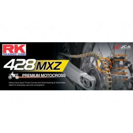 CHAINE RK 428MX 076 MAILLONS avec Attache Rapide.