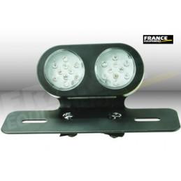 Feu arrière avec fixation, ampoule LED.