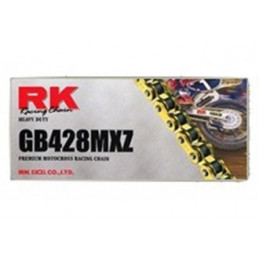 CHAINE RK GB428MX 126 MAILLONS