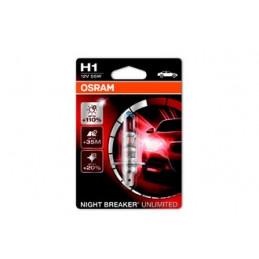 AMPOULE OSRAM H1 +110% NIGHT BREAKER UNLIMITED
